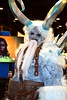 Cosplay at Rhode Island Comic Con 2016 (FranMoff) Tags: rhodeislandcomiccon costume white flickr cosplay horns ice demon cosplayer 2016 coolblue iceblue ricc