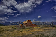 John Moulton Barn- Mormon Row, Wyoming (j_piepkorn65) Tags: mormonrow tetons moultonbarn moulton