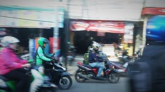 Back From Traffic (michael.veltman) Tags: jakarta indonesia traffic mopeds