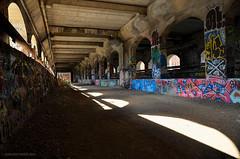 Over the Genesee River (gregador) Tags: rochester ny subway graffitti aqueduct geneseeriver abandoned urbanexploring urbanexploration urbex
