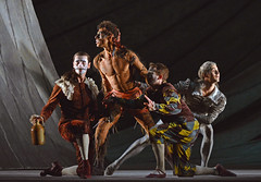 James Barton, Tyrone Singleton, Valentin Olovyannikov, Mathias Dingman (DanceTabs) Tags: dance ballet brb birminghamroyalballet dancers classocalballet shakespeare