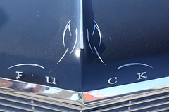 toying with toyota (1600 Squirrels) Tags: 1600squirrels photo 5dii lenstagged canon24105f4 classic car automobile show downtownalamedaclassiccarshow parkstreet alameda alamedacounty eastbay sfbayarea nocal california usa gm buick