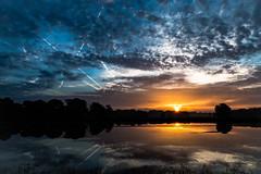 sunrise (jojo54th) Tags: eunrise sonnenaufgang woken clouds himmel sky water wasser teich pond see reflections spiegelungen reflektionen thomalla verl germany deutschland ngc