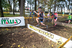 Back to work (Michele Mondini) Tags: gpguerciotti idroscalo cyclocross cycling barriers raceday comeback milano lovemyjob canonphotography actionphotography ridektm ktmbikes fastmoving