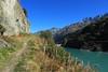 lac des Toules (bulbocode909) Tags: valais suisse bourgstpierre valdentremont lacdestoules montagnes nature lacs sentiers vert bleu arbres fleurs