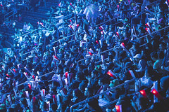 SSG vs H2K - Day 2 Semifinals (lolesports) Tags: worlds leagueoflegends worldchampionship worlds2016 knockoutstage semifinals lolesports lol newyorkcity newyork usa crowd
