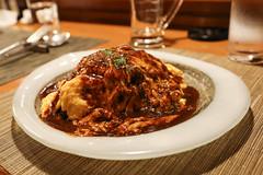 IMG_1039 (Jeff Amador) Tags: kyoto japan pontocho kichikichi kichi omurice omelette food