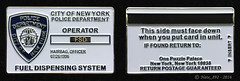 "NYPD Fuel Dispensing System ""Operator"" Card Coin (Nate_892) Tags: nypd challenge coin new york police fuel dispensing system master operator vehicle"