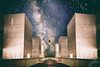 Float (Justin Bartels) Tags: float floating space astrophotography milky way galaxy salk institute double exposure composite photoshop digital art