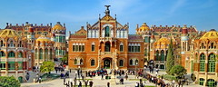 Barcelona: Hospital San Pablo (gerard eder) Tags: architecture architektur arquitectura world travel reise viajes europa europe spain espaa spanien barcelona modernisme jugendstil art deco artnouveau belleepoque hospitalsanpablomuseo museo