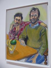 Alice Neel - Geoffrey Hendricks and Brian (c_nilsen) Tags: aliceneel painting sanfrancisco california digital digitalphoto sanfranciscomuseumofmodernart museum art