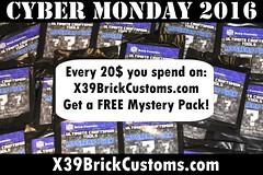 Cyber Monday 2016 (X39BrickCustoms .com) Tags: lego cyber monday minecraft custom x39brickcustoms