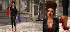 A Little Holiday Shopping (CamiMahovlich) Tags: adorkableposes blueberry breathe catwa collabor88 fetch indulgetemptation ison jasmineshollow truth veechi