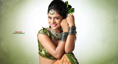South Actress Deepika Das Traditional cum Hot Photos Set-3 (10)