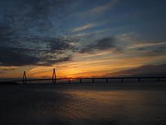 Sunset @Farøbroerne, Storstrømmen - Denmark