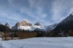 L'hiver me voil. (A.G. Photographie (+ 100 000 vues)) Tags: montagne soleil neige automne hiver cile sommet nikon d5000 sigma