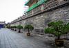 Big Wild Goose Pagoda-5684 (kasiahalka (Kasia Halka)) Tags: unescoworldheritagesite giantwildgoosepagoda bigwildgoosepagoda buddhistpagoda tangdynasty 652 morningbell godofwealth xuanzang xian china
