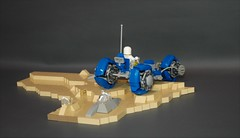 Classic space tricycle exploration vehicle (adde51) Tags: adde51 lego moc classic space classicspace tricycle moon racer speeder