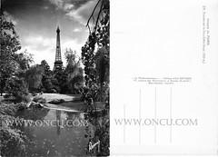 Paris - Fransa (talatwebfoto1) Tags: yapi kule paris fransa siyahbeyaz 19501970