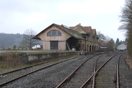 Maulbronn Stadt railway station, 06.04.2012.