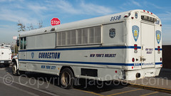 NYC Department of Correction Inmate Transportation Bus, Lower East Side, New York City (jag9889) Tags: jag9889 usa departmentofcorrection manhattan newyork outdoor 2016 lowermanhattan transportation newyorkcity bus stop inmate sign 20161114 car lowereastside auto automobile boldest cod correction les lawenforcement ny nyc nycd newyorkcitydepartmentofcorrection newyorksboldest unitedstates unitedstatesofamerica vehicle us