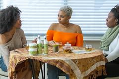 IMG_6095 (sabrinafvholder) Tags: women black african american natural hair ors commercial tea drinking girlfriends