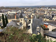 rooftops of Chinon (mistdog) Tags: chinon france loire vienne roofs rooftops town mediaeval photoscapex