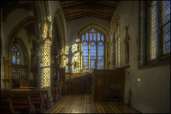 Castle Ashby - Church 5 (Darwinsgift) Tags: castle ashby church interior northamptonshire pce nikkor 24mm f35 d ed nikon d810 photomatix hdr