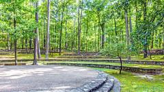 Garvan Gardens Outdoor Gardens (ken mccown) Tags: hotsprings arkansas amphitheater landscapearchitecture stonework