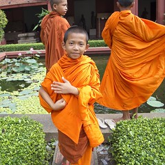 Young Buddhist Monks (annemcgr) Tags: buddhist monks cambodia colour fineartphotography annemcgrath