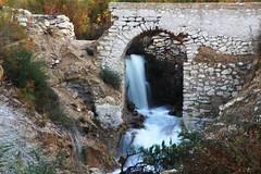 Waterfall (alexsv92) Tags: waterfall pantano amadorio alicante naturaleza naked nude water agua cascada puente romano roman