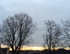 Stripe of Sunrise (stashheap) Tags: sky sunrise clouds