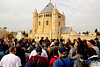 Rabbi Jonathan Cahn with tour group in Israel (www.CoralTours.org) Tags: jerusalem christianity jesus yeshua messianic jews bible holy land israel coral travel tours rabbi cahn roof preaching pastor