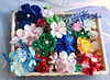 All my kanzashi made in 2 months. (Bright Wish Kanzashi) Tags: hanamde tsumami kanzashi tsumamizaiku つまみ細工