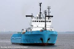 Blue Beta (andreasspoerri) Tags: dnemark cuxhaven bluebeta versorger highlandpioneer imo8112665 baldervigra lowlandspioneer oceanicpioneer sterkoderkristiansund