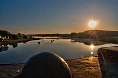 Bleu Vert et Jaune (PaaulDvD) Tags: sunset sun colors pen fun vacances olympus hdr matin angers
