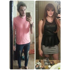 Before & After (M2F Transformations) Tags: