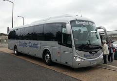 Knights' Travel YN63 BYZ Horsham 28/5/14 (jmupton2000) Tags: travel sussex coach knights horsham scania irizar flickrandroidapp:filter=none yn63byz