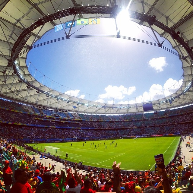 Germany vs Portugal game yesterday..Germ by brazil2014gram, on Flickr