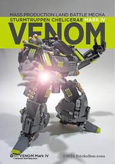 SC Venom Mark 4_Bricksben4 (Benjamin Cheh) Tags: war lego group weapon scifi fantsy diorama mecha mech moc futu