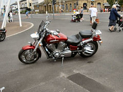OLD MEN'S NEW TOYS. (ronsaunders47) Tags: honda motorcycles southport
