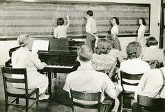 00870 (Hendrix College) Tags: music writing landscape chalk chair piano indoors archives chalkboard hendrixcollege yespeople