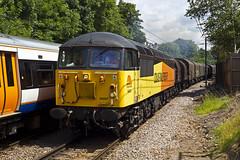 56087 Hampstead Heath 9-7-14 (V13460) (TimEaster) Tags: grid hampsteadheath freight 56 tilbury colas northlondonline llanwern 56087 6v62
