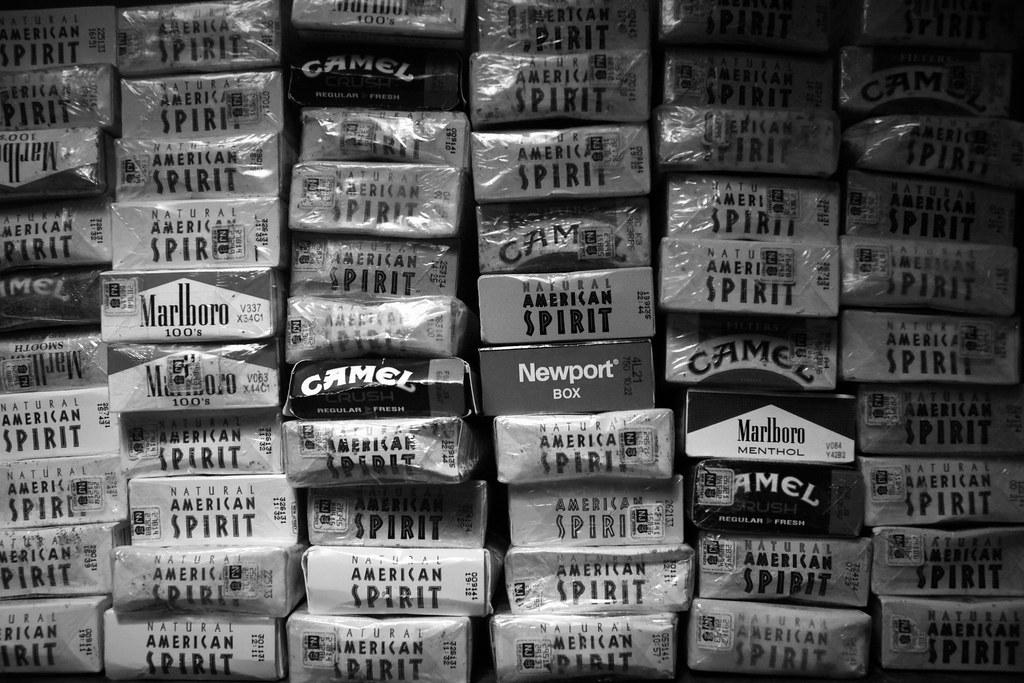 Cigarettes Marlboro pack prices Rhode Island