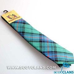 Clan Armstrong Ancient Tartan Wool Tie