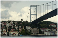 Bridge, Bosporus, Istanbul, Turkey (Rhannel Alaba) Tags: bridge turkey nikon istanbul bosporus d90 pido alaba rhannel