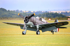 Curtis P40 (Steve G Wright) Tags: aircraft airshow iwm airdisplay flyinglegends iwmduxford