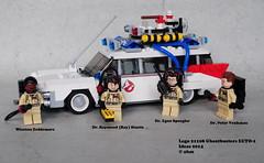 Lego Ideas 21108 Ghostbusters Ecto-1 (KatanaZ) Tags: movie lego ideas cuusoo winstonzeddemore drpetervenkman dregonspengler ghostbustersecto1 drraymondraystantz lego21108