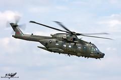 AgustaWestland AW101 Merlin HC.3A ZJ998 - 28(AC) Squadron - Royal Air Force (BenSMontgomery) Tags: tattoo force air royal helicopter international merlin 28 benson raf squadron fairford riat 2011 agustawestland aw101 hc3a zj998 28ac