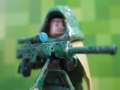 Custom Lego Camoflauge Sniper (DeltaEagle Customs) Tags: windows 2 usa 6 3 color green bird english america wow 1 cool nice call gun shoot lego sleep 5 awesome president duty 4 7 8 tags camo suit sniper hamster ghosts custom fabulous cod camoflauge ghillie doge minifigure awesom mw2 mw3 mw1